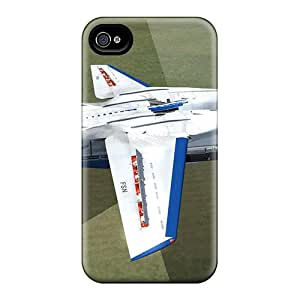 Iphone 4/4s Hard Back With Bumper Silicone Gel Tpu Case Cover Tomcat