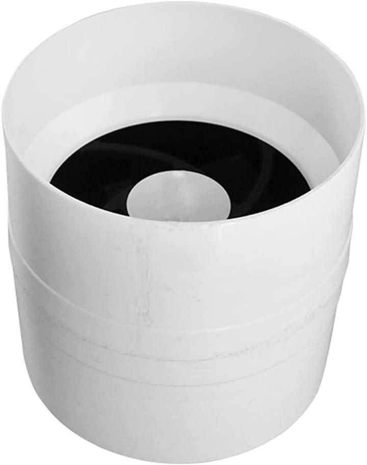 QZKFJ Extractor baño, Cocina Extractor del Tubo de Escape del conducto del Ventilador de bajo Ruido de tuberías de 110 mm Extractor Aficionados del hogar silencioso de ventilación Ronda de Fans