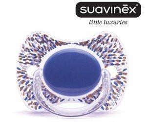 Suavinex - Chupete Haute Couture Fisiologico Silicone, 4M ...