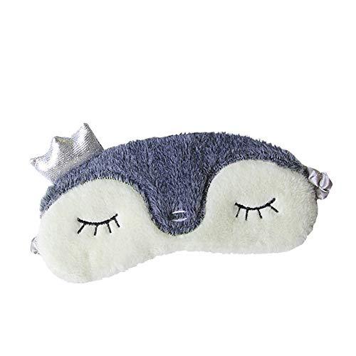 Shinywear Women Travel Sleep Eye Patch Cover Plush