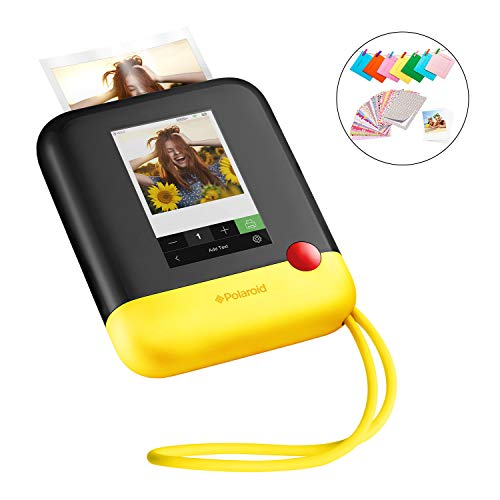 Polaroid Pop 2.0 2 in 1 Wireless Portable Instant 3x4 Photo Printer & Digital 20MP Camera with Touchscreen Display, Built-in Wi-Fi, 1080p HD Video (Yellow) Prints from Your Smartphone. (Cameras Sale Polaroid On)