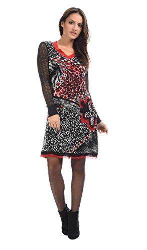 L33 - Robe OLIVIA - Femme  Amazon.fr  Vêtements et accessoires 054a2a62e82