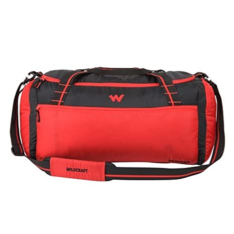 Wildcraft Nylon 46 cms Red Travel Duffle (8903338097211)