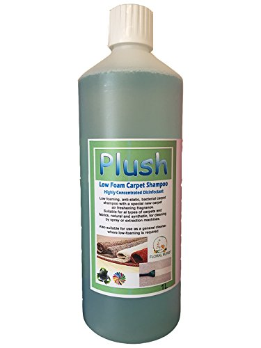 Carpet Cleaner Shampoo - Odour Deodoriser (inc Pet) - Concentrated 100:1 - 1L (Floral Burst)