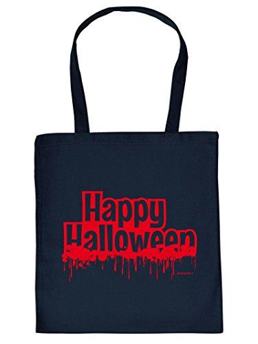 Raccapricciante Felice Halloween Tote Bag Borsa Con Impronta Borsa Da Viaggio Must-have Idea Regalo Borsa Di Stoffa