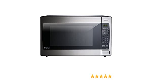 Panasonic 2.2 Cu. Ft. 1250W Genius Sensor Countertop/Built-in Microwave Oven with Inverter Technology