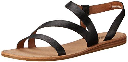 Lucky Women's Fastt Gladiator Sandal, Black, 10 M US