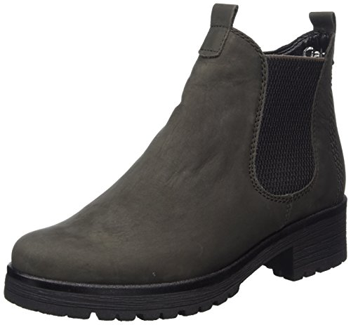 Shoes Gabor grey Botas Mujer Micro Comfort para Gris Sport Dark 4wPwTf6dq