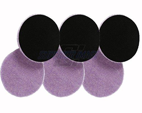 Lake Country Purple Foamed Wool Buffing/Polishing Pad (5.5