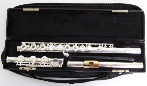 Gemeinhardt 3OSHBGLP Flute Gold Lip Plate J1 Solid Silver Headjoint by Gemeinhardt