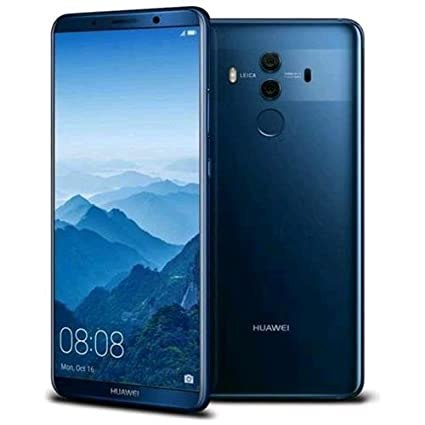 """Huawei Mate 10 Pro 4G 128GB Blue - Smartphones (15.2 cm (6""""), 128 GB, 20 MP, Android, 8, Blue)"""