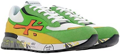 PREMIATA Luxury Fashion Herren DJANGO4687 Multicolour Leder Sneakers | Frühling Sommer 20