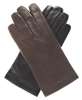 Fratelli Orsini Men's Cadet Size Wool Lined Leather Gloves