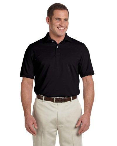 Ashworth Mens Two-Buttons Pique Polo Shirt