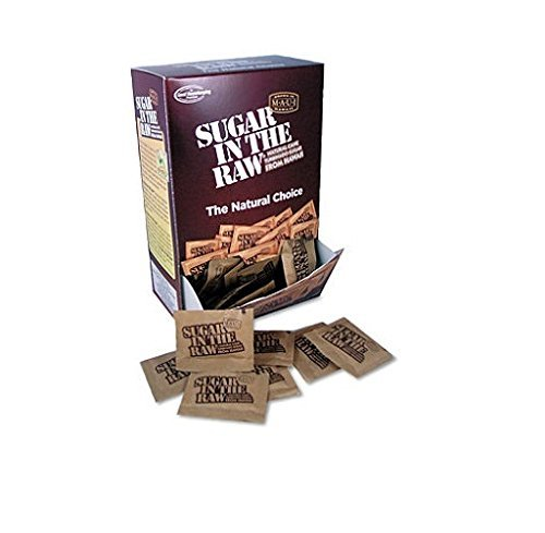 - Office Snax Unrefined Sugar Made From Sugar Cane 200 Packets/Box by Office Snax