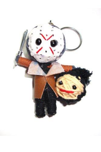 Doll Keychain - Jason Friday the 13th Voodoo String Doll Keyring Keychain