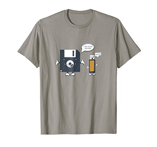 USB Floppy Disk I Am Your Father TShirt |Funny Nerd Geek Tee