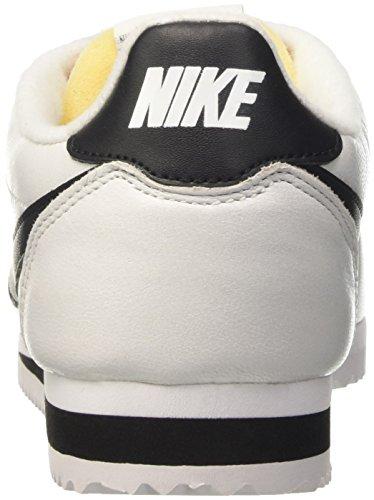 Nike Heren Classic Cortez Prem Loopschoenen, Wit, 44 Eu Wit / Zwart
