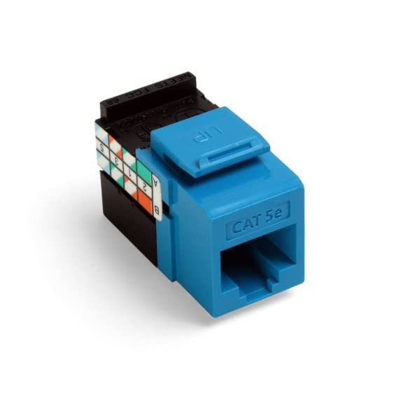 Leviton Gigamax 5E Quickport Connector, Cat 5E 3 Independently tested and verified by Intertek (ETL) Exceeds all industry standards for performance and mechanical requirements Easy termination and installation