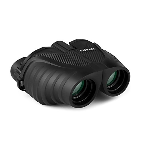 Compact Binoculars, SGODDE 8x25 Waterproof Folding High Powered Binoculars with Weak Light Night Vision,Fully Coated Lens for Outdoor Bird Watching Travelling Concert