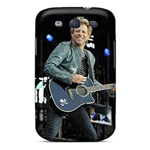 Scratch Protection Hard Phone Cases For Samsung Galaxy S3 (Lxu3140dHSn) Unique Design High-definition Bon Jovi Skin