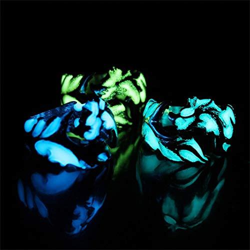 bestheart Rings,Luminous Dragon Ring,Men\'s Domineering Magic Ring (#03, 9)