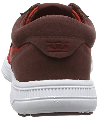 Supra Hammer Run Red/Burgundy-white cheap find great cheap online buy cheap best seller visa payment for sale 2014 newest sale online K0NvMT