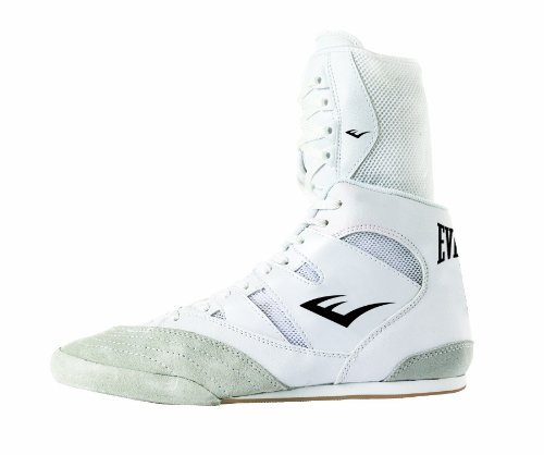Everlast 8001W Hi Top Chaussures de boxe Blanc
