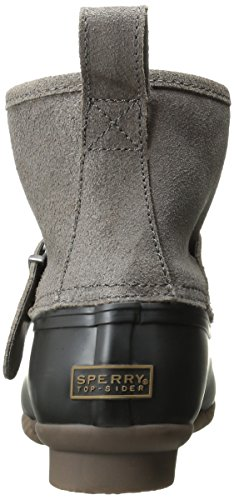 Black Rip Sider Top Boot Water Sperry Graphite Women's cwARqtYHY