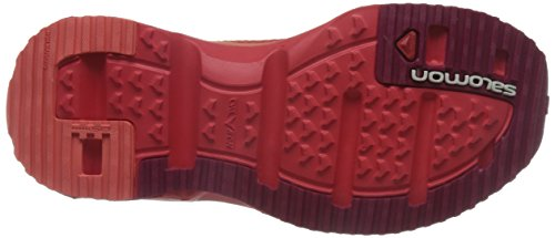 Zapatillas Mujer Moc Red 3 sangria Rojo Trail Salomon 0 Running poppy W De Rx poppy Para Red p4XvwqU
