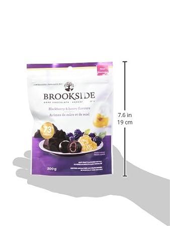 BROOKSIDE Dark Chocolate, BlackBerry and Honey, 200 Gram ...