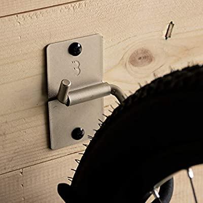 Amazon.com: BBB Bike Wall Mount Soporte de pared gancho de ...