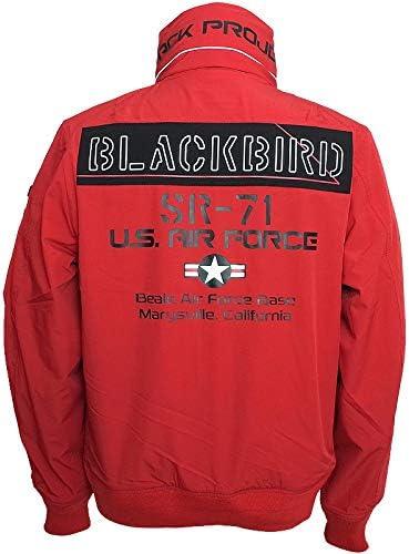 アビレックス #6102133 ブラックバード スタンドジップ ジャケット