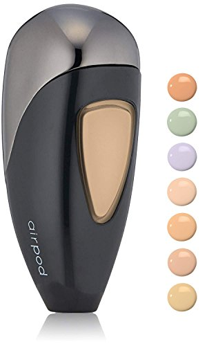 Yellow Airbrush Makeup - Temptu Perfect Canvas Airbrush One Step Concealer & Color Corrector Airpod, Yellow, 0.28 fl. oz.