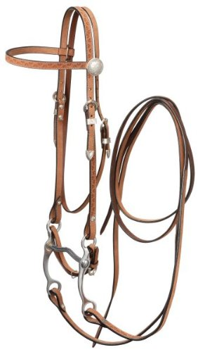 Silver Royal Brow Bridle Horse