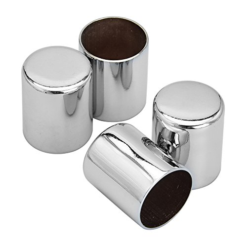 Amazicha 4 PCS Chrome Docking Hardware Covers for Harley Street Glide Road King 2009-2018
