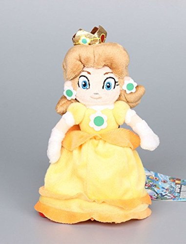 Super Mario Plush 8.2 Inch / 20cm Daisy Princess Doll Stuffed Animals Figure Soft Anime Collection Toy