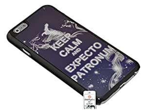 3 YEARS WARRANTY - HIGH QUALITY - Case for Apple iPhone 6 [4.7 inches] - Black - Blue - White - Grey - Keep Calm and Expecto Patronum - Stars - Universe - Space - Galaxy - Painting - Smoke - Pattern - Fun - Message Case - Message - Drawing - Design - Idea - Writing - Trendy - Vintage Style - printing on alloy - case in thermoplastic - Resistant - Cool - HD - Glossy Finishes by ruishername