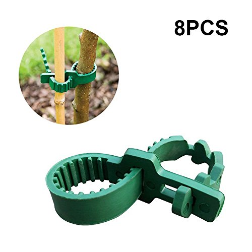 - KINGLAKE 8 Pcs Tree Stake Supports Adjustable Tree Plant Ties (24cm/9.4inch)