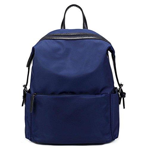 Espeedy 2017 moda de nylon de ocio mochila de las mujeres y la Universidad viento impermeable estudiantes Joker mochila azul