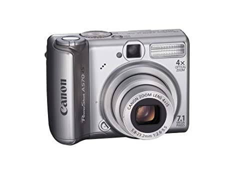canon powershot a570 manual