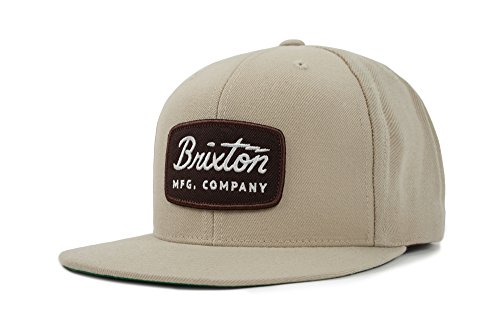 Brixton Men's Jolt Medium Profile Adjustable Snapback Hat, Wheat, One Size (Amazon Snapbacks)