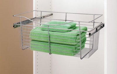 Rev-A-Shelf Pull-Out Closet Basket CB-181411-CR-5 18