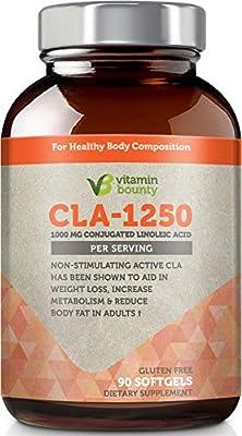 Vitamin Bounty CLA 1250mg softgels - Conjugated Linoleic Acid, Non Stimulating & Premium Quality
