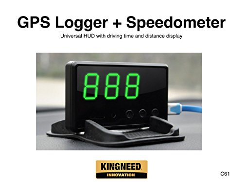 KingNeed C61 Universal Overspeed Speedometer product image