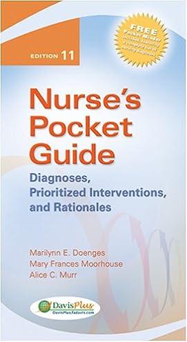 nurse s pocket guide diagnoses prioritized interventions and rh amazon com Nurses Pocket Guide 12th Edition Nurses Pocket Guide 12th Edition