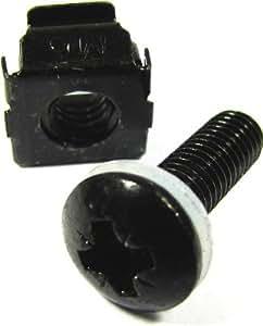 Cablematic - RackMatic Paquete de tornillería M6 enjaulada (50 uds)