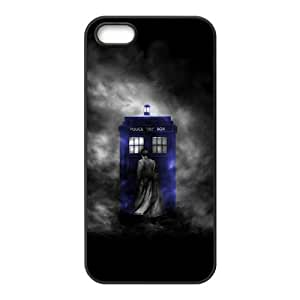 Mystic Zone Doctor Who Tardis Door Cover Case for iPhone 4/4S TPU Back Cover Fits Case KEK2097
