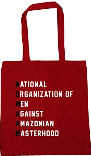 Gym Red Bag 42cm x38cm Meaning Beach 10 litres Shopping HippoWarehouse Tote MA'AM NO Classic xwZnqTAOX1