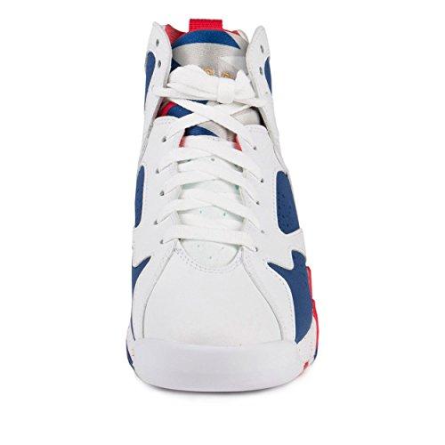 sale retailer 2717c e093f Jordan Kid s Air 7 Retro BG, OLYMPIC TINKER ALTERNATE-WHITE MTLC ...